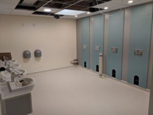 School toilet refurbishment at Bournemouth school