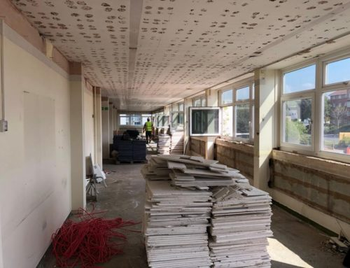 Strip Out Works at Crown
