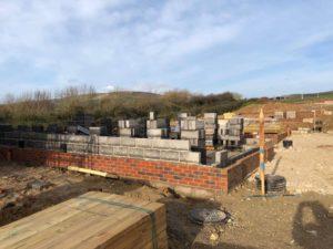 Foundation progress at Prospect Farm