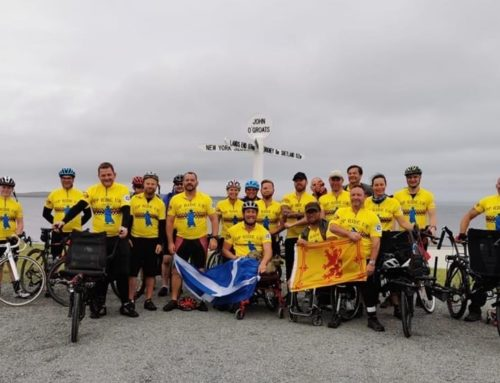 1,000 Mile Cycle Challenge Completed