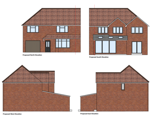 Planning Approved for House Remodel