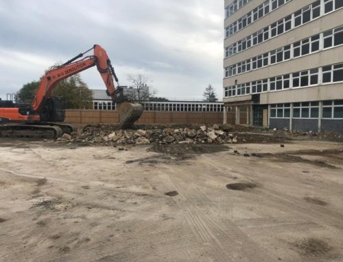 Demolition Works Completed at Crown Buildings