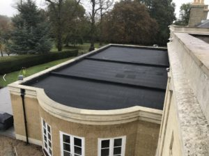 Waterproofing work done on Grade 1 listed building in London.