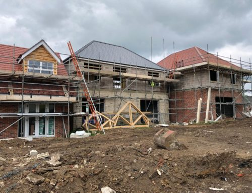 Progress on site at Prospect Farm